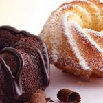 Close-up of McDonald's Bundt Cakes