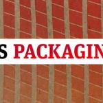 NS Packaging magazine logo over natural ink print sample