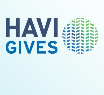 HAV Gives logo on light background