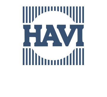 HAVI logo-historical-blue