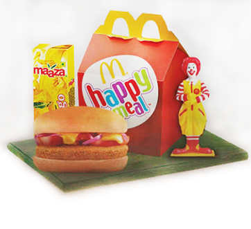 Happy Meal with Maaza
