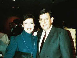 Founder Ted Perlman with his wife Harriette